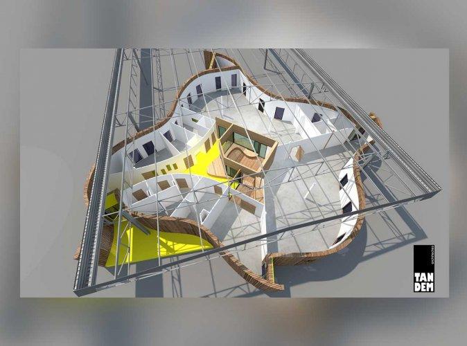 Métrovélo : construction siège social